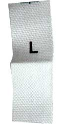 Woven Size Labels
