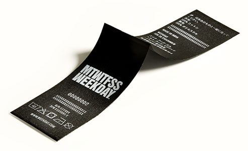Garment care labels
